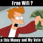 Finally Something interesting for us.. Free Wifi.. 😙 #MY3 #PresPollSL  #PressPollSL http://t.co/OQtVi0agvO