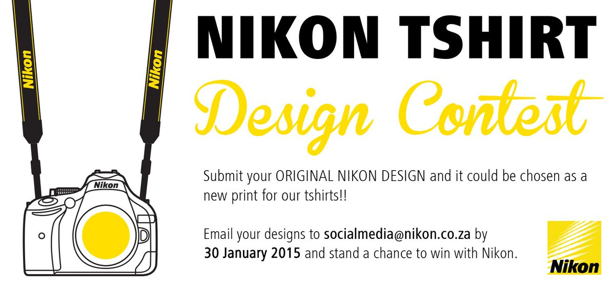 Submit your original Nikon t-shirt design and stand a chance win a Nikon L330 Coolpix #nikondesign http://t.co/ywr79Z60Oq