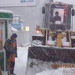 Очистка посадочных площадок по улице Владимирской @Rudakov_i_a, @DepBlagSamara http://t.co/BR12cMIKNt
