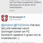 1-0 voor FC Dordrecht...:-) #dorgro http://t.co/tSvPuI0iWh