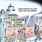 """( Even Statues Cried...) #PeshawarAttack @timesofindia: Todays toon by Ninan. http://t.co/1S94vQhfan"""""""