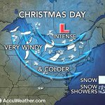 A little more definition to what MAY happen next week. Nasty Xmas Eve and lake effect south Xmas Day? http://t.co/ZZKfLTXGnz