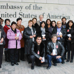 Teachers in Georgia visit US @EmbassyTbilisi to discuss #NATO-Georgia relations with embassy officials! http://t.co/yQEIFF3hOt