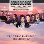 #ElectricParadise COUNT DOWN -7 Dias 12 Horas! @PAVevents @RonBarceloRD http://t.co/BPzHgcebUL