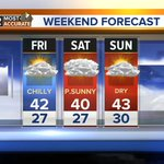 A chilly but dry weekend with highs in the 40s. @ABC2NEWS @ABC2Weather #GMM2 #Baltimore #Harford #Howard #Annearundel http://t.co/SmrYGxJnm5