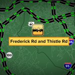 CRASH: Frederick Rd and Thistle Rd. #Catonsville #GMM2 http://t.co/XGhKMA7jvw