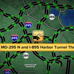 DISABLED VEHICLE: MD-295 N and I-895 Habor Tunnel Thruway. Right lane is BLOCKED. #GMM2 http://t.co/RPoGAOz38r