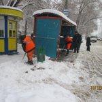 Очистка посадочных площадок по улице Советской Армии @Rudakov_i_a, @DepBlagSamara http://t.co/ougjH55I0p
