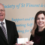 We dontated €45k to SVP today. We are delighted to help families in need - just in time for the Christmas period :) http://t.co/xUAjzLRWik