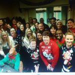HRG/Club Corporate Xmas jumper day in aid of #crumlin childrens hospital #Dublin ???????????????? http://t.co/7gMLz2pt9I