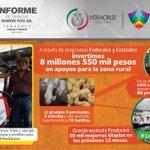 Buscamos desarrollar el potencial de nuestro campo Veracruzano #1erinformeRPG #TrabajamosJuntos http://t.co/jYsMsnLRF1
