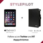 #WIN an iPad mini 3 + @ted_baker cover and get them before #Xmas! Follow @style_pilot, @ted_baker &RT #appychristmas http://t.co/IkEYDupf37