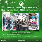 """CONCOURS Calendrier de lavent #Xbox 21/12: RT + tweet """"Cher Papa @XboxFR, pour le #NoelXbox, je rêve de gagner…"""" http://t.co/r3A1Y6vDDk"""