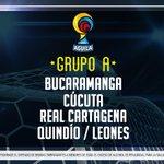 ¡Así quedó el Grupo A de los cuadrangulares de ascenso! #LigaAguila http://t.co/ajkqWbx30K