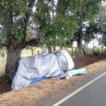 Dos mujeres fallecidas y tres lesionados de gravedad deja volcamiento vehicular en sector Curaco. http://t.co/6G91VQ14ie