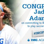 Congrats to @IMGAcademy U18 Girls soccer player on her verbal to @GoBarryBucs #IMGFam #imgriseup #imgwsoc http://t.co/HEwnbAbPIG