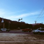 MAMA just took off from Carrs Hill Baptist Church. Airlifting 2 children to Mission Hosp. Condition unknown @WLOS_13 http://t.co/zyKleq6tl1