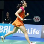 Jai Ho. Congrats.:) @NSaina: Won a tough match today against bae youn Ju from Korea 15-21, 21-7, 21-17 big match! http://t.co/Q6zeak1p6m