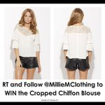 RT this and follow @MillieMClothing to be automatically entered into our #competition! http://t.co/GlLuduZzV0