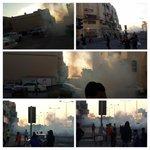 قوات النظام تقمع بالغازات الخانقة جزيرة سترة وتستهدف الحراك من اجل الحرية-الجمعة 19 ديسمبر 2014 #Bahrain #Alwefaq http://t.co/pJXx87cw9E