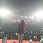 "Right now @ArvindKejriwal adressing a Jansabha in Kasturba Nagar Assembly. #5SaalKejriwal "" http://t.co/MX0LkcTakT"