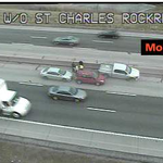 @FOX2now Accident involving 3 vehicles in the left lane of 70EB at St. Charles Rock Road.Expect delays. http://t.co/TE65ivnX7Z