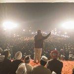 .@ArvindKejriwal addressing Kasturba Nagar Jan sabha. Massive support from people. #5SaalKejriwal http://t.co/6rUtVEO2Za