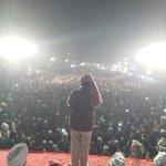 """Just in... """"@ArvindKejriwal addressing Kasturba Nagar Jan sabha. Massive support from people."""" #5SaalKejriwal http://t.co/f4mqZqyDmR"""