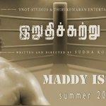 RT @DEE5pak: #IrudhiSuttru Maddy Is Back excellent Teaser sir WoW   waiting _/\_ my work for u @ActorMadhavan :) http://t.co/bT9SGZt6CZ