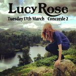 Lucy Rose to play @Concorde_2 on Tues 17th March! Tickets on sale now! #Brighton http://t.co/glpQiDIoJ1