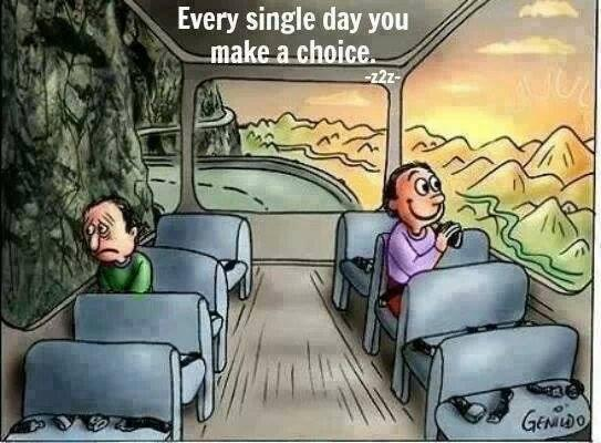 Happiness is a conscious choice. http://t.co/j0BLkCt4sc