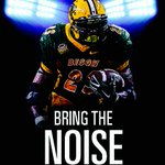 Bison Nation:  Are you ready to bring the NOISE for John Crockett and the Herd tonight! #GoldRush #BisonPride http://t.co/VgeFmNGCCk