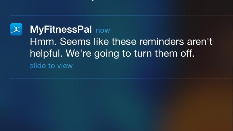 This app just won my heart forever for this notification. http://t.co/cvIAmiGqv2