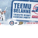 #NHLJets to host broadcast viewing party of Teemu Selanne Tribute Night. >> http://t.co/ZApOfwmkro http://t.co/gjQrL0l3aE