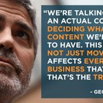 George Clooney speaks out on Hollywoods cowardice with The Interview: http://t.co/OirQL6hKIy http://t.co/LuK5G6CQu4