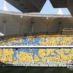 جماهير النصر تواصل تميزها برسم أجمل الصور شكراً جماهير الوفاء #NFC http://t.co/YDijEXs0nJ