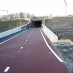 Sorry, @KatsDekker today another tunnel was opened in #Utrecht. Shortening an existing cycle route. http://t.co/MGSnCk0aQE