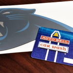 Followers who RT are eligible to win an @AutobellCarWash gift card & #Panthers car decal! 10 winners chosen at 2PM. http://t.co/AirEFXnRbv