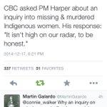 Just one more reason #Canada @PMHarper needs to go! #cdnpoli #idlenomore #AmINext http://t.co/sZmfmSefBB