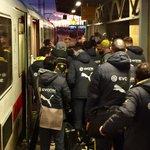 Der #BVB mit #Kehl, aber wohl ohne #Bender auf dem Weg nach #Bremen. #SVWBVB http://t.co/iSEp1bMbyC