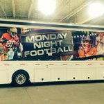 RT ColeyHarvey: The trucks have arrived at Paul Brown Stadium ... #Bengals #Broncos #MNF ESPNMondayNight http://t.co/waxmv0In44