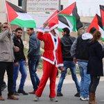 Palestinian santa claus #Palestine http://t.co/CqwIRfkvDw