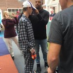 @TajhB10 at MUSC Childrens hospital, bringing smiles to both Clemson and Carolina fans! http://t.co/1S0yymBcGs