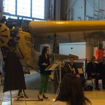 Today is the unveiling of the newly named Royal Aviation Museum of Western Canada. http://t.co/mmvVzIQ3Ad