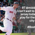 Best wishes to @middlebrooks! Thank you for having a part in lifting up the entire city of Boston in a time of need. http://t.co/arbyR1Tv3S