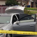 1 person hit by gunfire in shooting near Carroll H.S. Driver of this Cadillac detained. http://t.co/ap56zcRZoy http://t.co/mT1CbF1Nt3