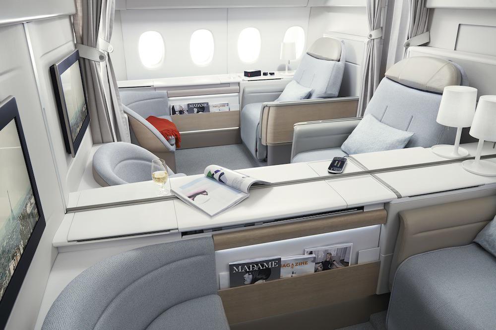 Discover the most luxurious route to Paris, the Air France La Première Suite: