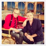 Saying goodbye tonight to @CraigyFerg. What wonderful years I've spent w/ him and his team! Farewell, friend! http://t.co/J5JBt7RCm9