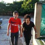 David Mendieta y Cecilio Dominguez llegando a Cerro Porteño, para la firma de contrato. @Futbol780 http://t.co/Affi5IGTS3
