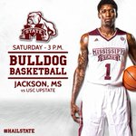 Jackson-area Bulldogs, join us at the Mississippi Coliseum tomorrow for @HailStateMBK at 3 p.m. Tickets start at $5. http://t.co/rrTjODMl4o